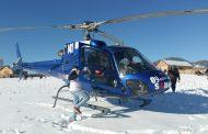 المروحية الطبية تنقل سيدة مصابة بروم في الرأس من العيون إلى مراكش