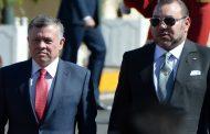 جلالة الملك يهنئ عاهلي المملكة الأردنية بمناسبة عيد استقلال بلادهما
