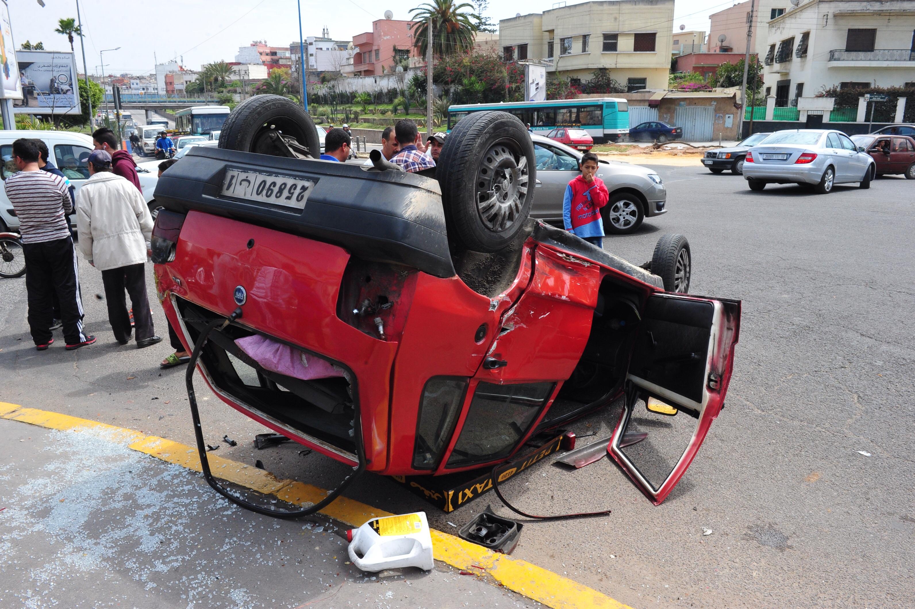 18 قتيلا و1624 جريحا حَصَادُ حربِ الطرق بالمناطق الحضرية  بين 8 و14 ماي الجاري