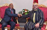 شهد شاهد من أهلها..استقبال الملك لزوما يعد بمستقبل واعد لعملاقين افريقيين