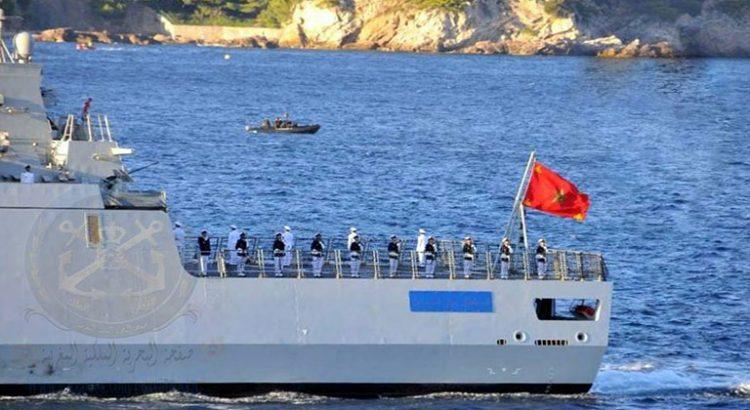 البحرية الملكية تقدم المساعدة..