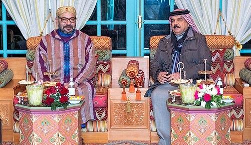 الملك يُجري لقاء وديا بالرباط مع ملك البحرين