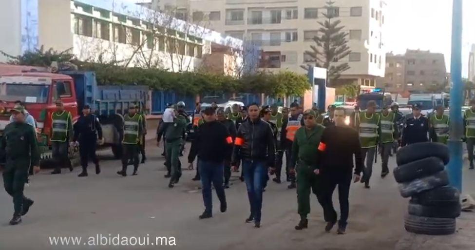 عامل إقليم النواصر يشرف ميدانيا على تنزيل حالة الطوارئ الصحية بمدينة الرحمة