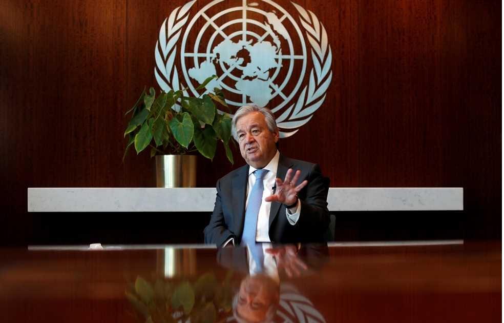 غوتيريش أمينا عاما للأمم المتحدة لولاية ثانية