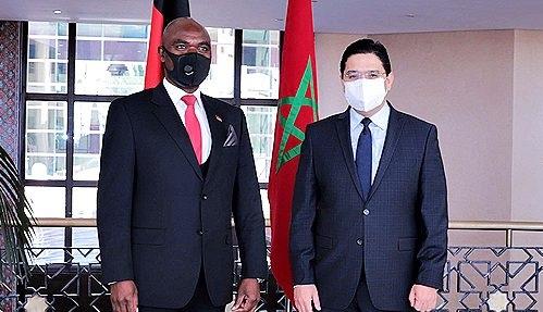 المغرب مالاوي