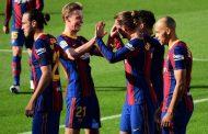 برشلونة يحتفل بالذكرى الـ121 لتأسيسه بفوزه برباعية نظيفة