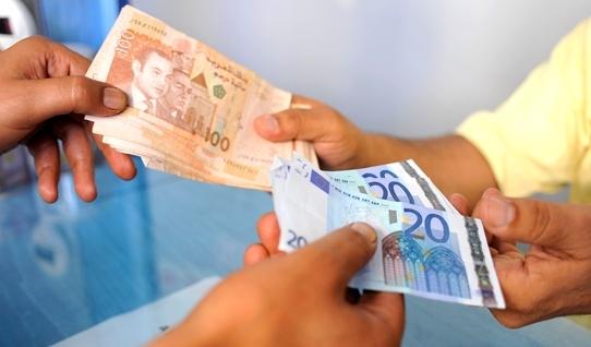الدرهم.. انخفاض أمام الأورو وارتفاع أمام الدولار