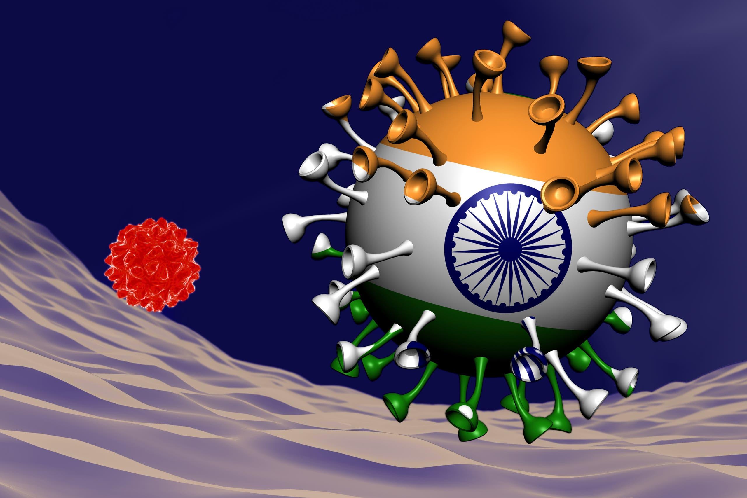 المتحور الهندي موجود في 44 بلدا