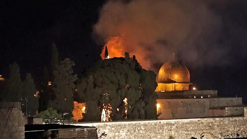 الكشف عن الاضرار التي تعرض لها المسجد الأقصى