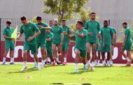 المنتخب الوطني يجري آخر حصة تدريبية قبل منازلة نظيره البوركينابي