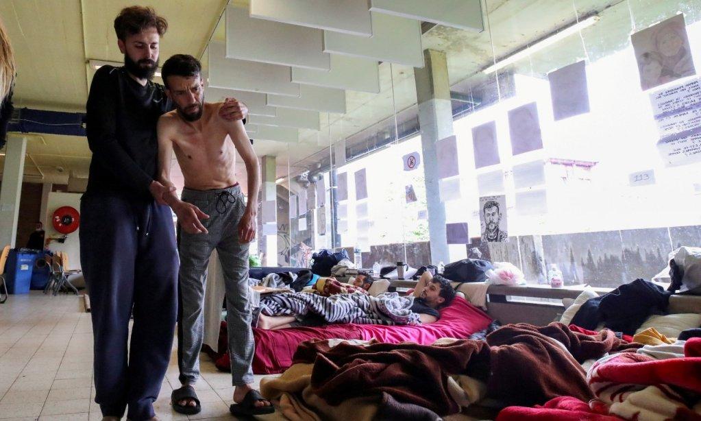 بلجيكا.. المهاجرون غير القانونيين يعلقون إضرابهم عن الطعام