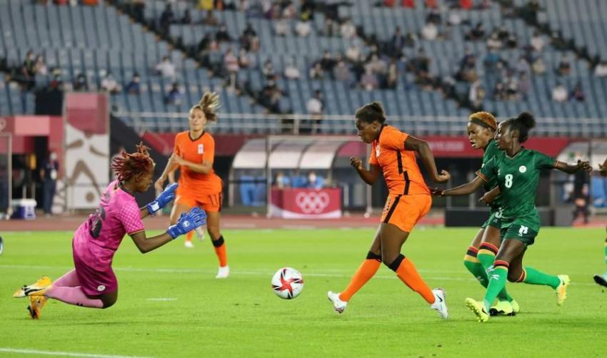 سيدات هولندا يمطرن شباك زامبيا بـ10 أهداف