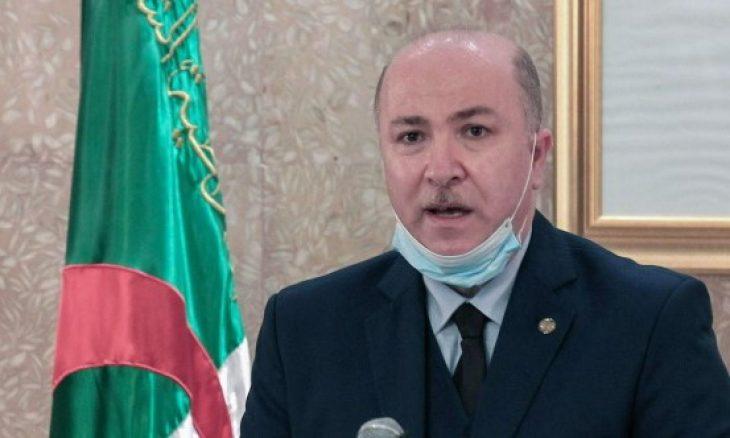 إصابة الوزير الأول الجزائري بفيروس كورونا